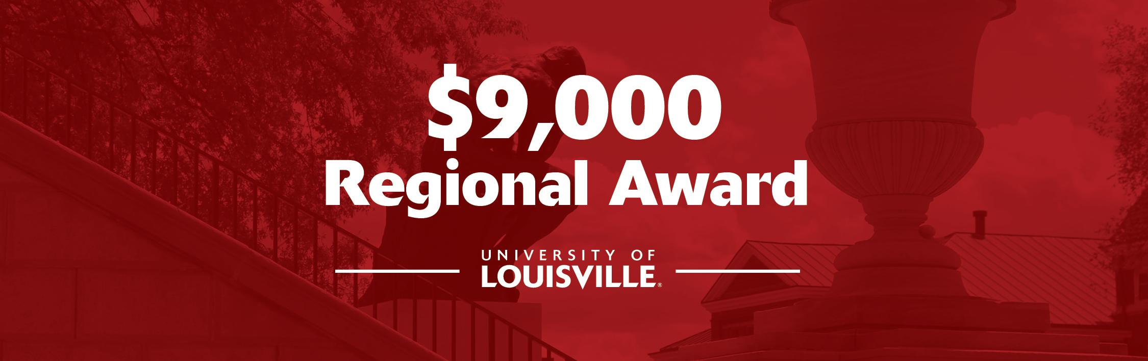 $9,000 Regional Award