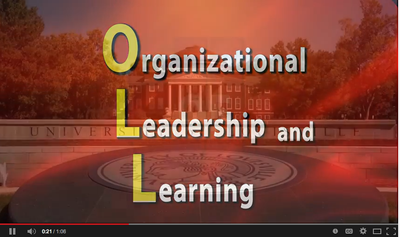 organizational leadership and learning video screenshot