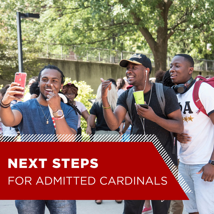 Next Steps for Admitted Cardinals
