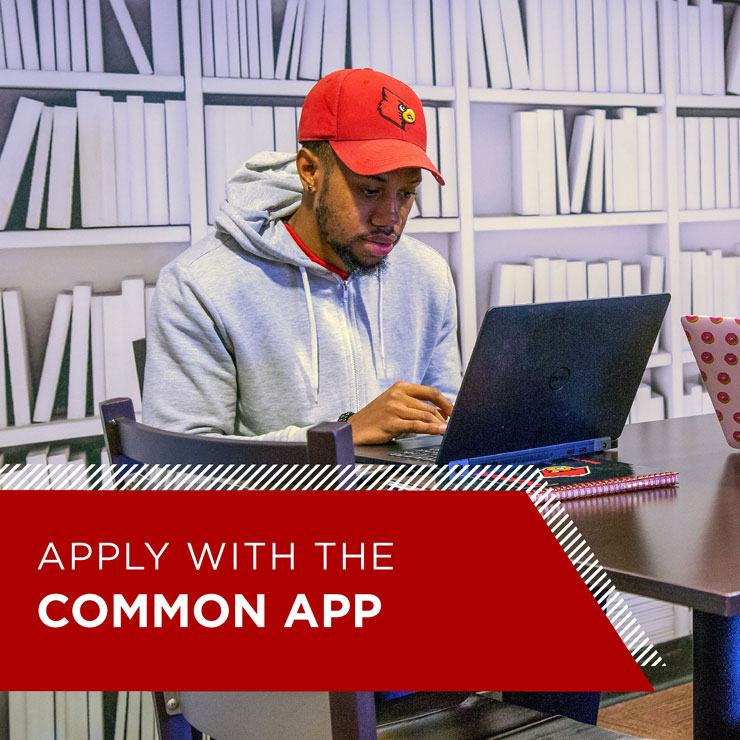 Apply now with the Common App