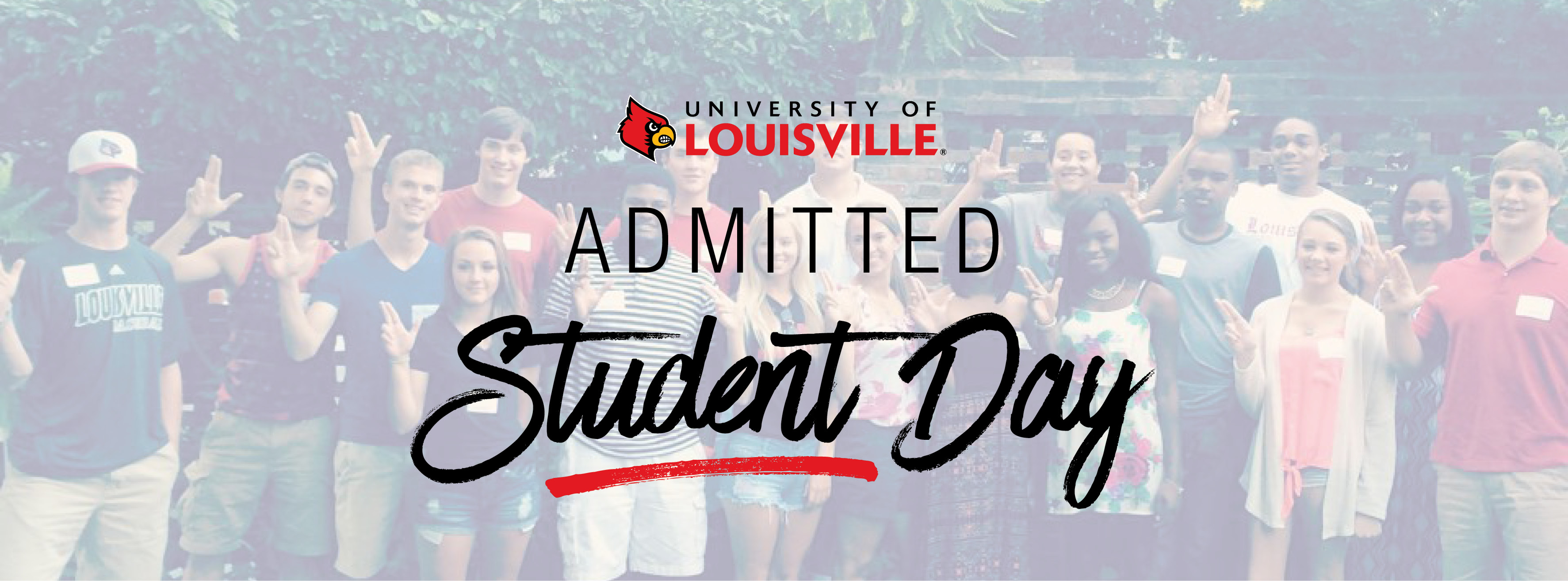 Admitted Student Day: March 24, 2018