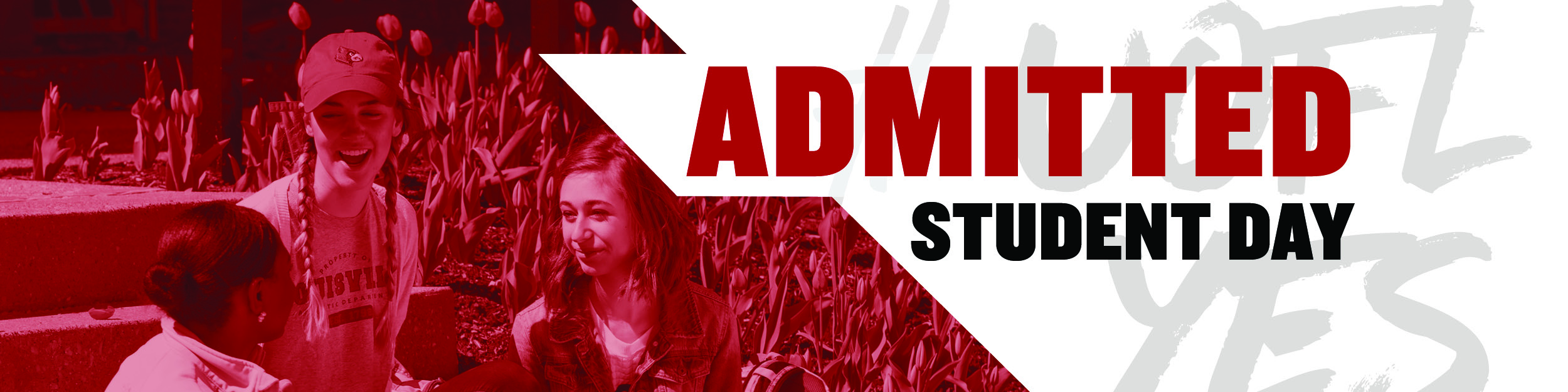 Admitted Student Day Banner