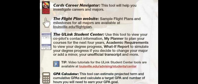 The In-Flight Toolkit can help you stay on course to graduation