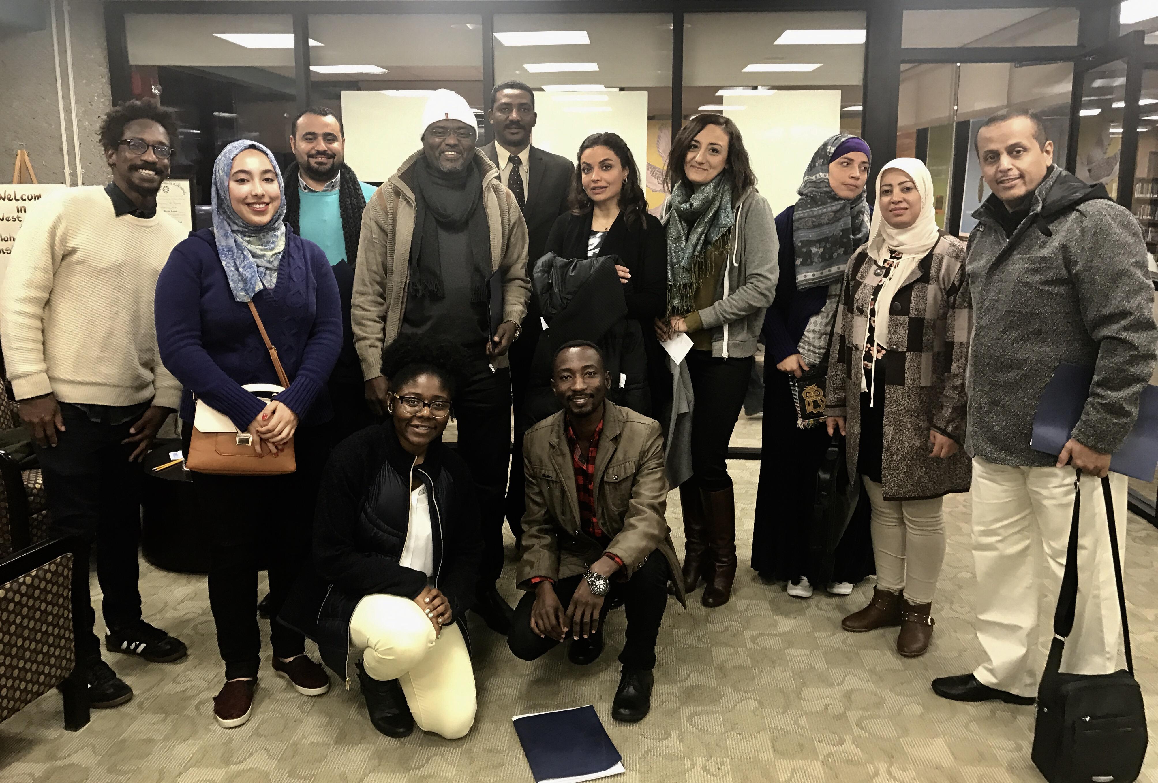 Human & Civil Rights Delegation Visit Muhammad Ali Institute