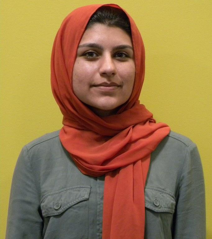 Portrait of Mehwish Zaminkhan