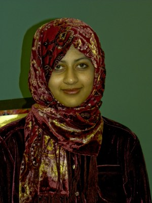 Head shot of Aaisha Hamid