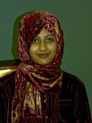 Head shot of Aaisha Hamid
