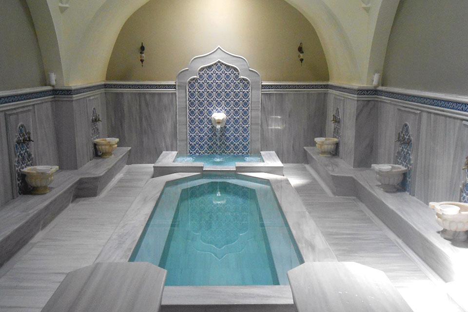 Bath house of Hammamat