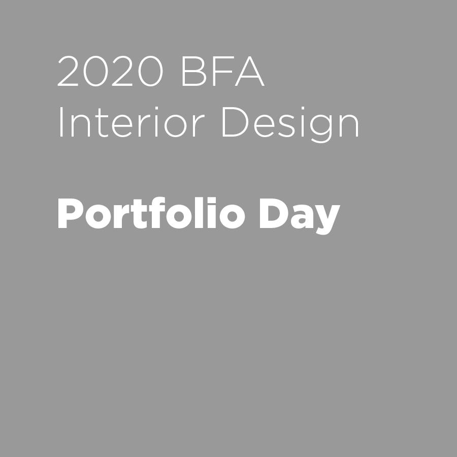 Interior Design Portfolio Day