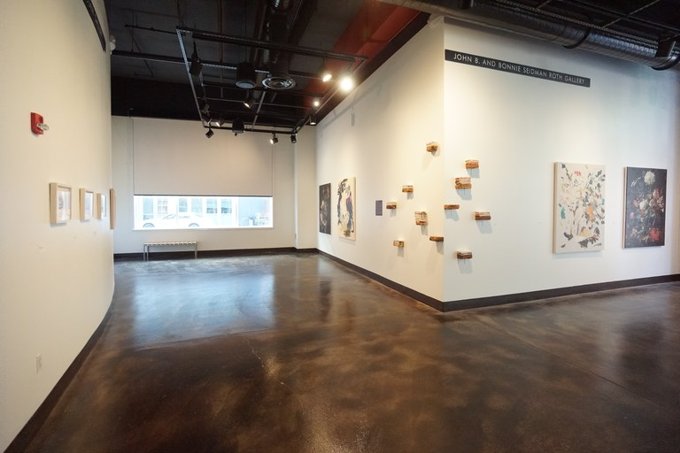 Installation view 2 of New Recruits exhibition