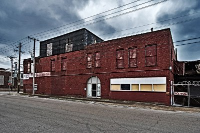 old bulding exterior
