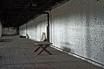 old bulding interior
