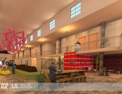 new studio rendering