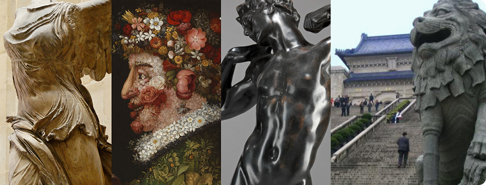 Art History composite image