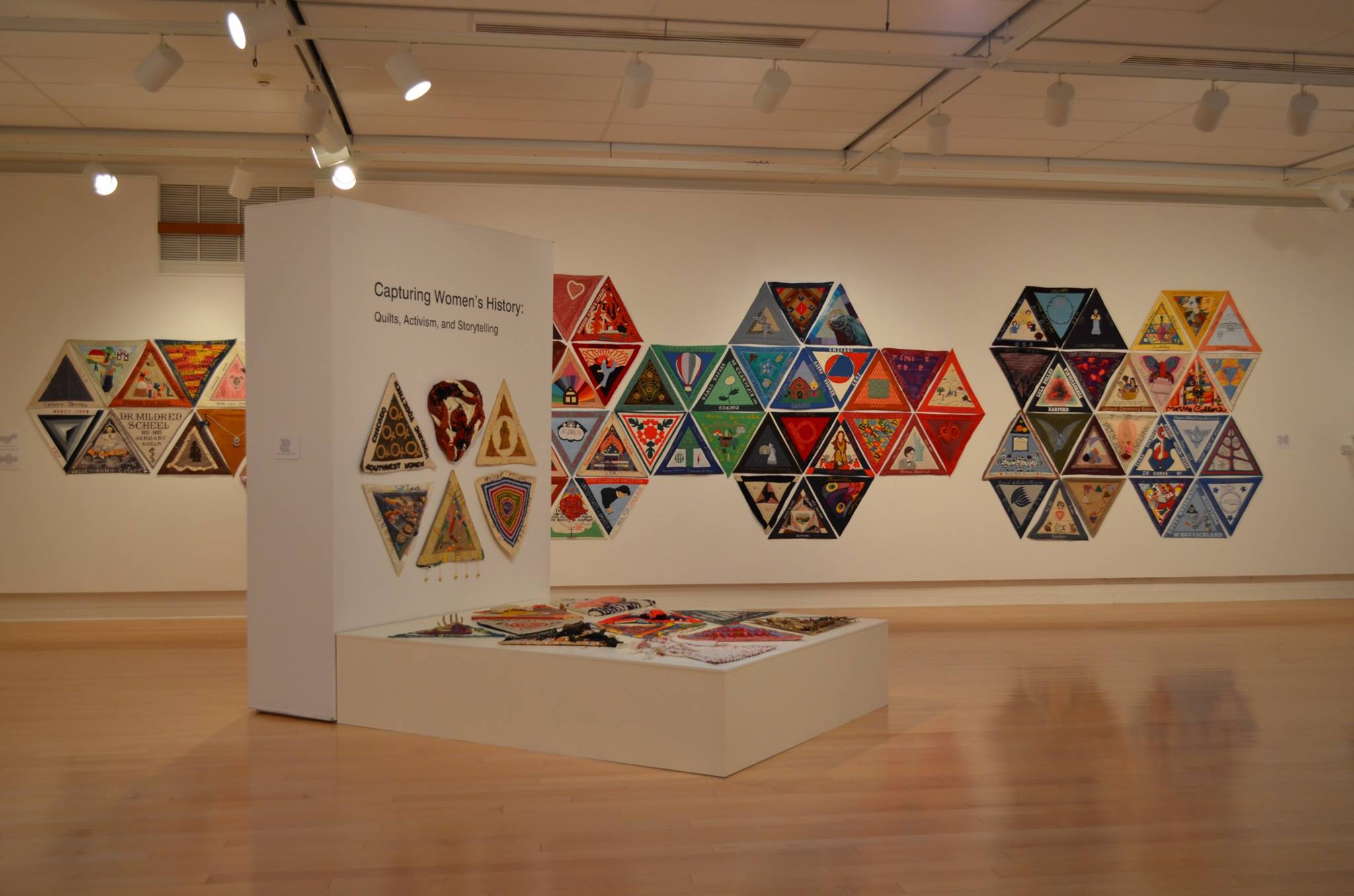 International Honor Quilts on display