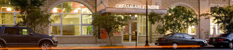 The Cressman Center Gallery Entrance