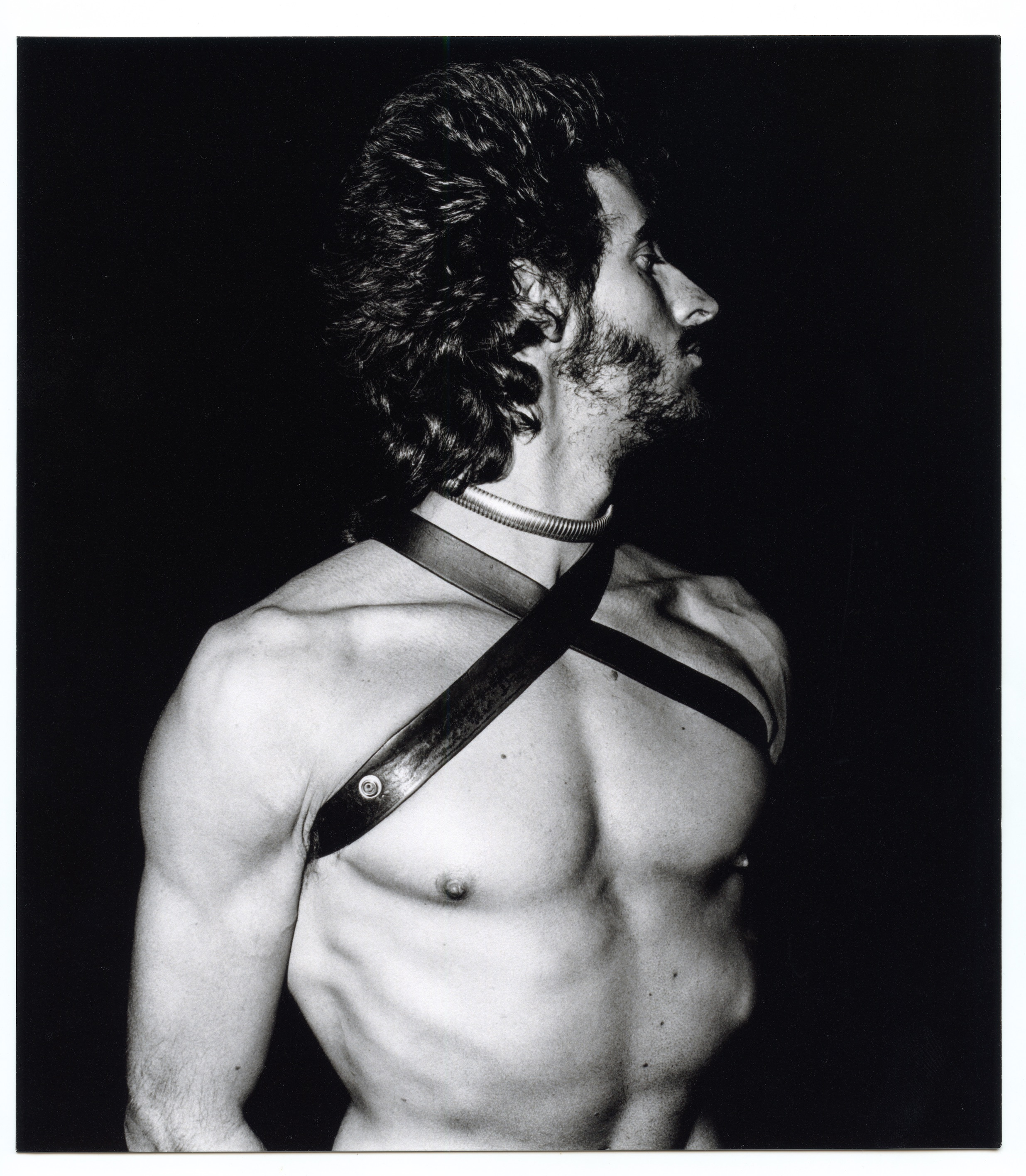 Image Credit: Peter Hujar. Man in Harness, 1973, Silver gelatin print, 8 x 10 inches, Courtesy of the Peter Hujar Estate.