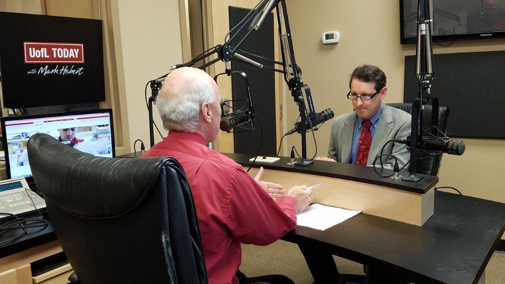 Professor Benjamin is interviewed by Mark Hebert.