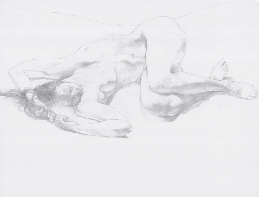 Nude drawing by James Grubola