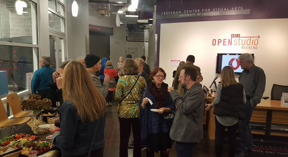 Open Studio Weekend at Cressman Center for Visual Arts