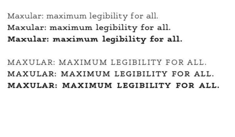 Professor Steven Skaggs designed a type font Maxular — Hite