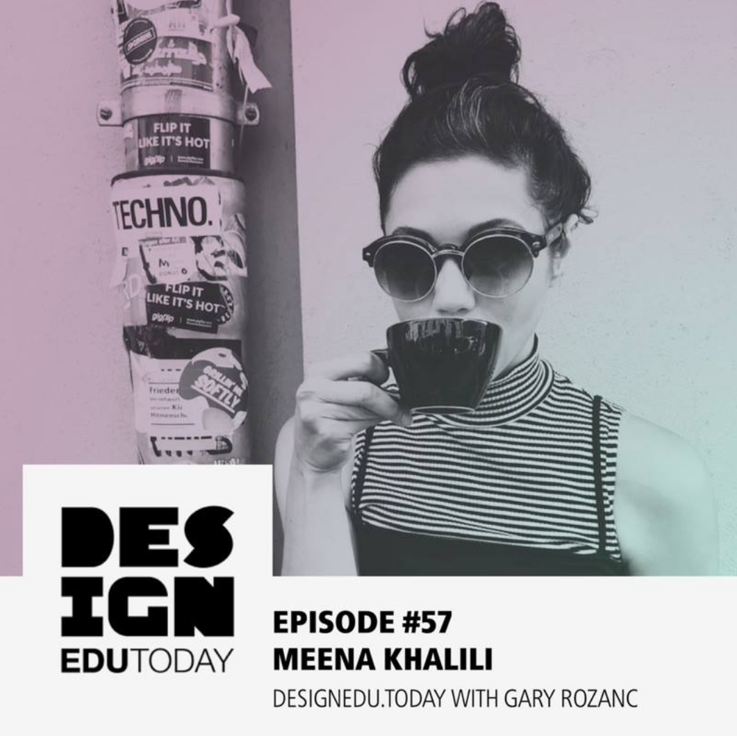 Meena with Design EDU Today