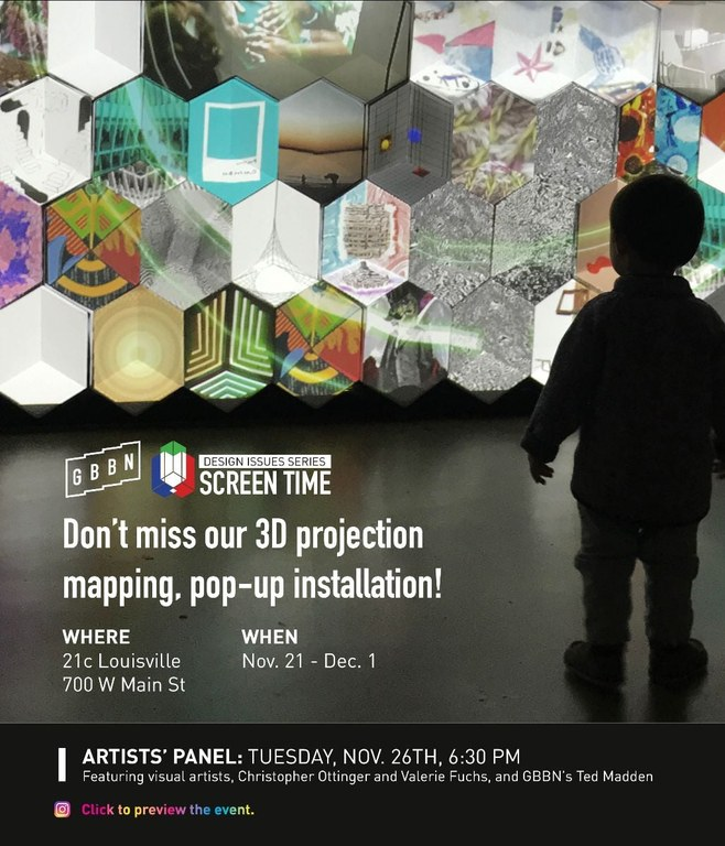 Artist Panel at 21c Museum Hotel advertisement