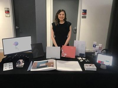 Joyce Chen at portfolio day