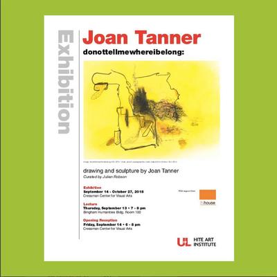 U of L artist flier for Joan Tanner