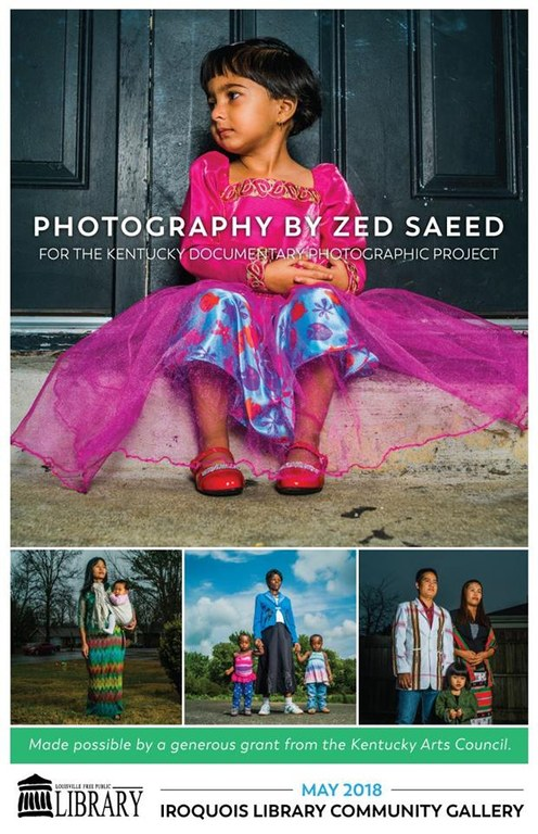 Zed Saeed's photographs for the Kentucky Documentary Photographic Project