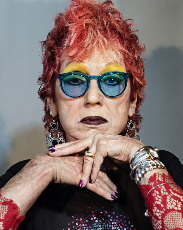 Portrait of Judy Chicago