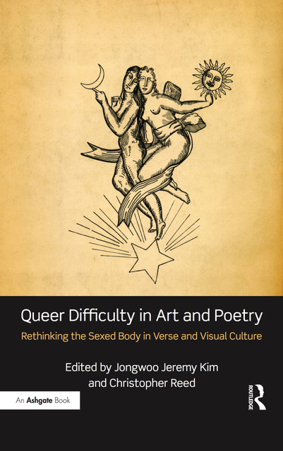 Book cover of Queer Difficulty in Art and Poetry