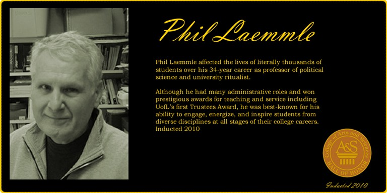 Phil Laemmle Hall of Honor banner