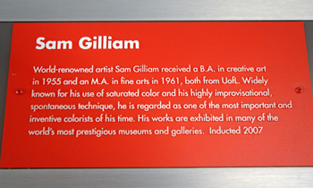 gilliam plaque