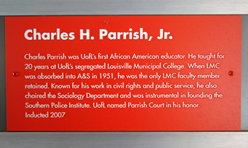 parrish plaque