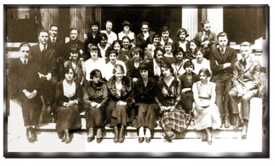 First Graduating Class in 1911