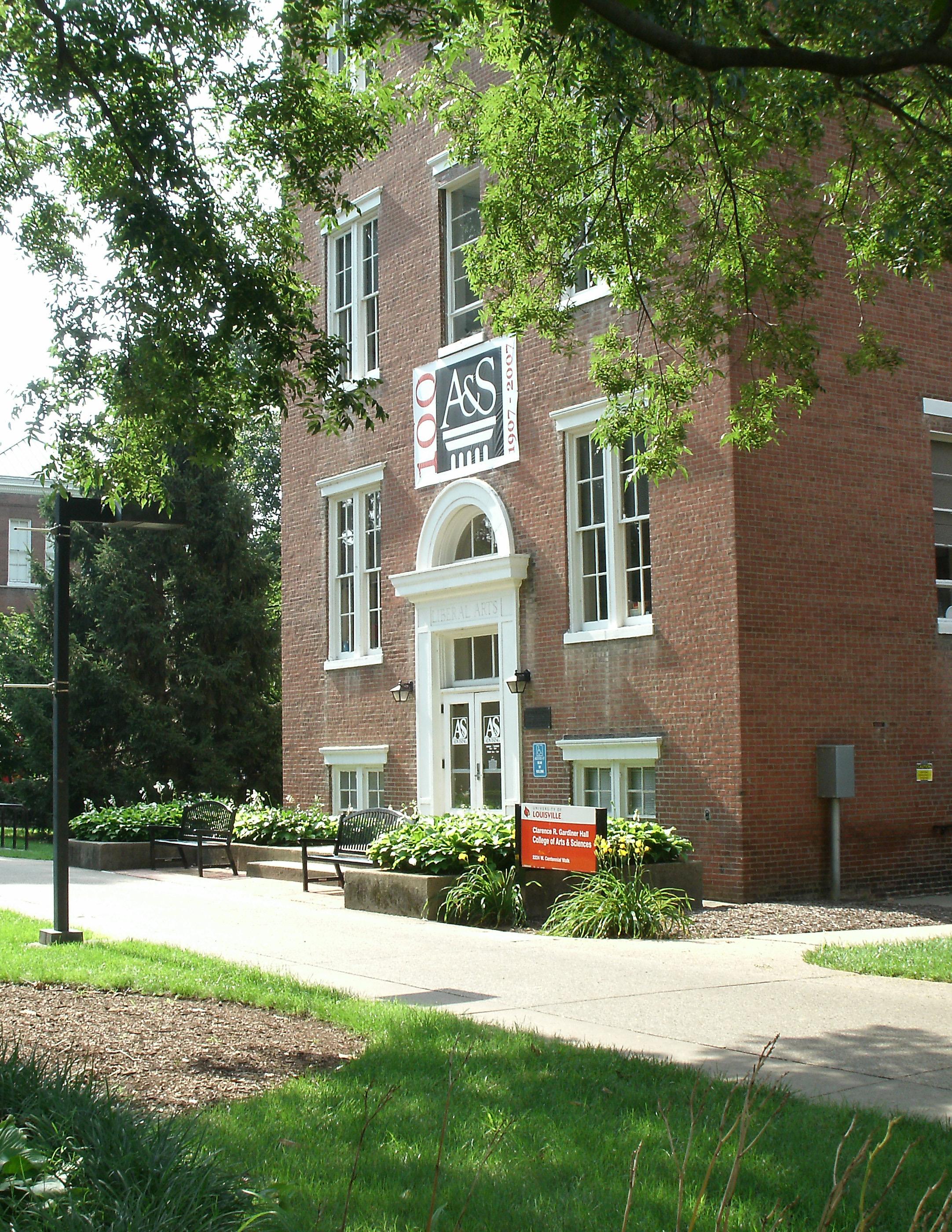 Gardiner Hall front door