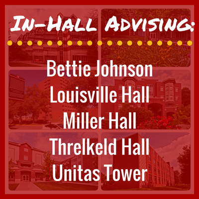 In-Hall Advising for all all residence halls