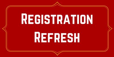 Registration Refresh