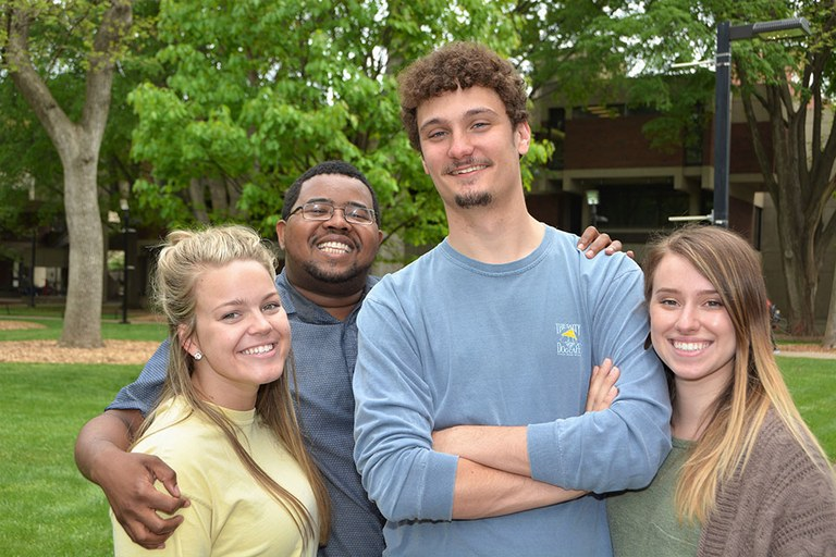 Four UofL Students
