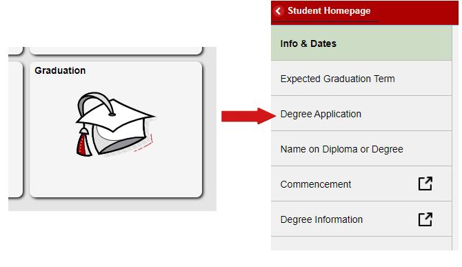 Visit ulink to apply for graduation