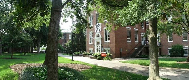 front of Gardiner Hall