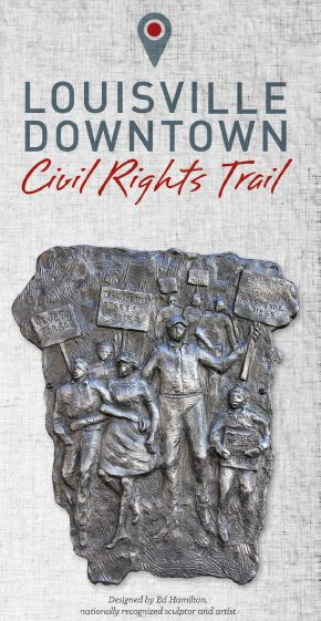 Louisville Downtown Civil Rights Markers booklet cover