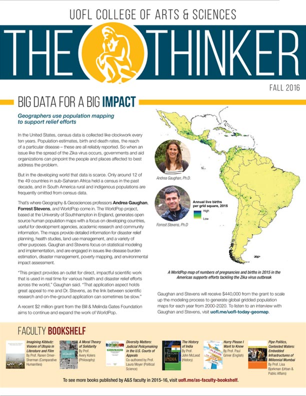 Thinker Newsletter Fall 2016