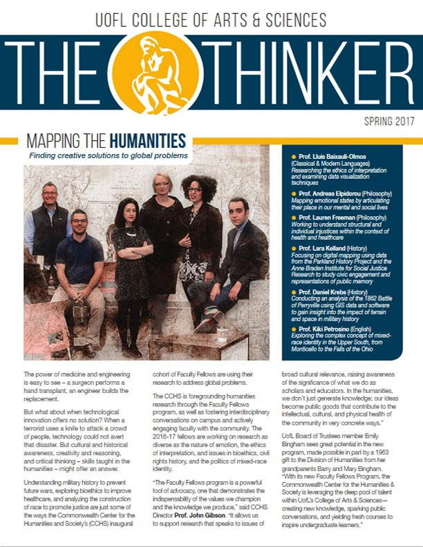 Thinker Newsletter Spring 2017