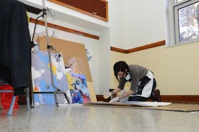 Fischer studio artist