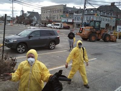 Students in NJ - Sandy