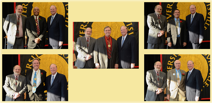 faculty award winner photo collage