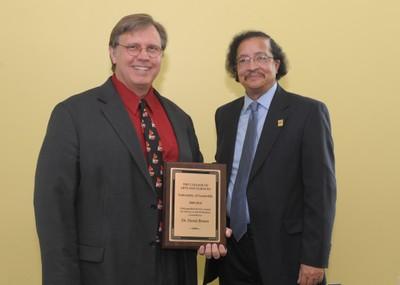 David Brown A&S Faculty Awards 2010