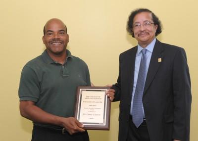 Dewey Clayton A&S Faculty Awards 2010